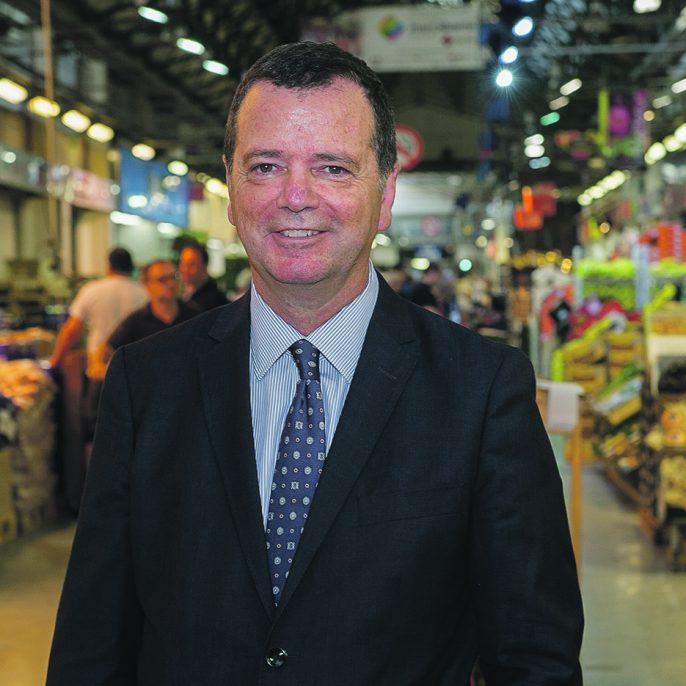 El director general de Mercabarna, Josep Tejedo